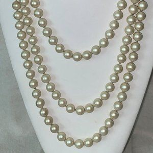 Harmony vintage cultured pearl necklace 75'' #61